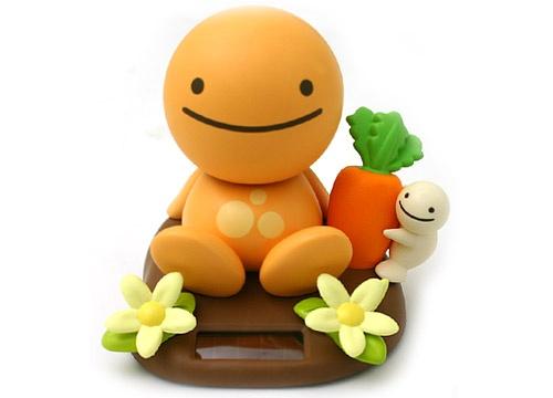 元气野菜娃娃-红萝卜