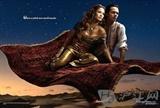 珍妮佛·洛佩兹携老公马克·安东尼扮演迪斯尼经典动画《阿拉丁》