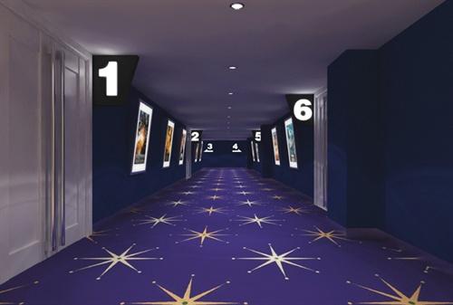 电影院走廊设计图