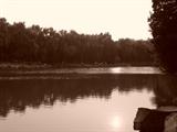 未名湖的夕阳