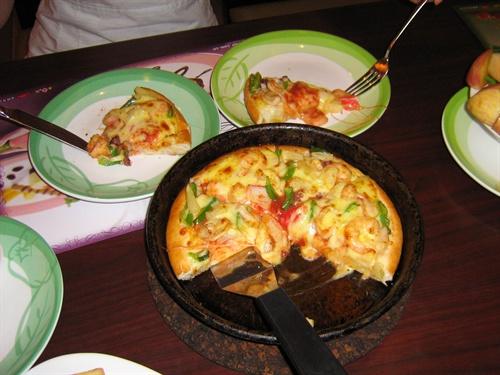 2008年8月12日,必胜客美食06