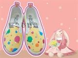 17公分小童鞋圆点纹