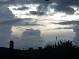 7月2 号傍晚的天空