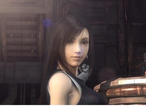 最终幻想Ⅶ:蒂法·洛克哈特女主是真的美,难怪男主... -手机搜狐