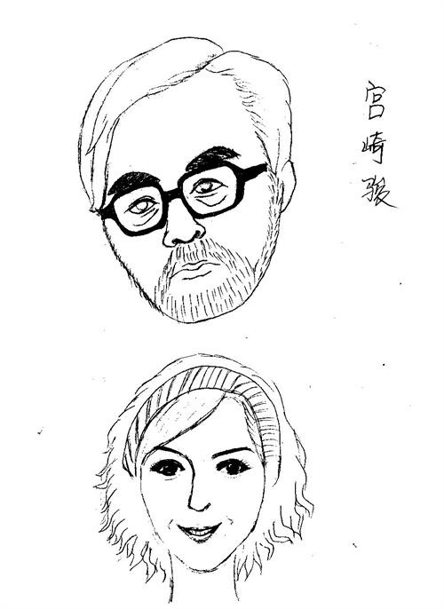 宫崎骏漫画版 自创女孩漫画版