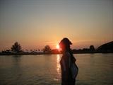 亲吻马六甲海峡的夕阳