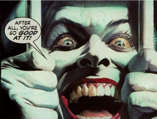 joker小丑哭泣头像