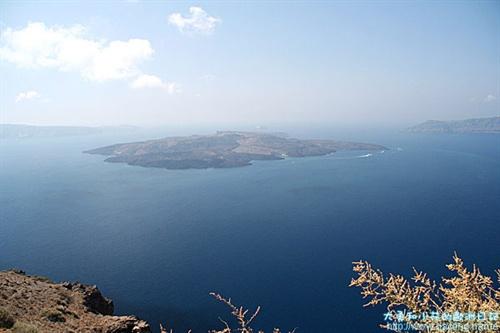 火山岛俯视图 – mtime时光网