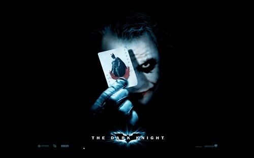 蝙蝠侠 黑暗骑士 小丑