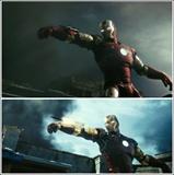 《铁人》预告片对比2