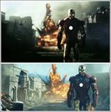 《铁人》预告片对比4