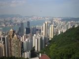 去年在香港太平山