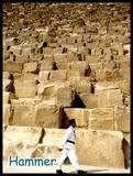 金字塔前的警察