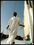在阿斯旺乘坐帆船时的船夫03