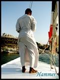 在阿斯旺乘坐帆船时的船夫04