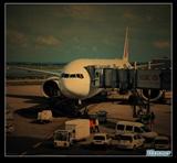 巴黎_忙碌的机场