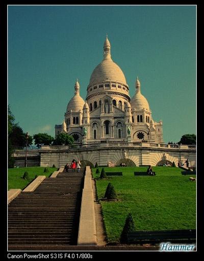 巴黎_圣心教堂