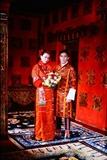 他们的古典婚礼