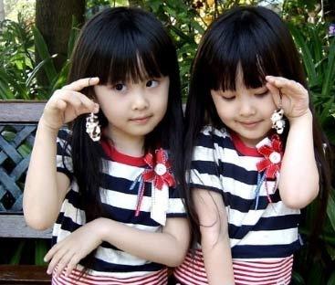 超人气双胞胎可爱无敌