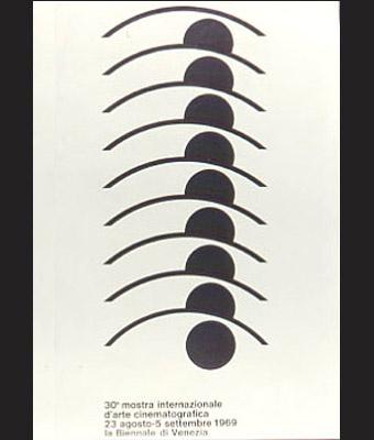 1969年威尼斯电影节海报